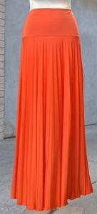 orange skirts