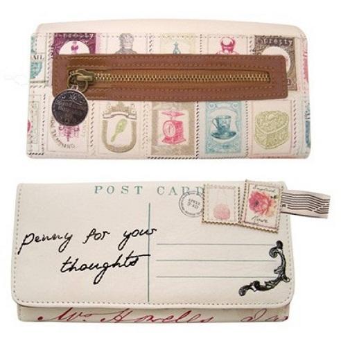 Postcard Funky Wallet