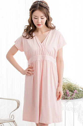 Princess Cut Pregnancy Nightgown