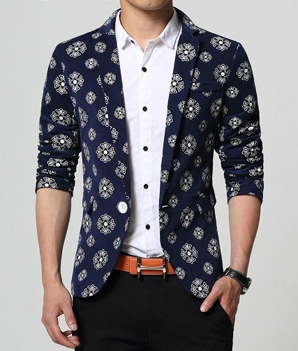 Printed Party Wear Blazer