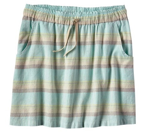 Pull up beach skirt