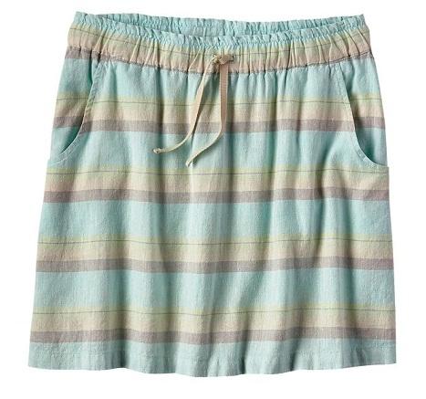 Pull up beach skirt