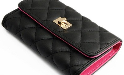 Quilted Designer Wallet for Women