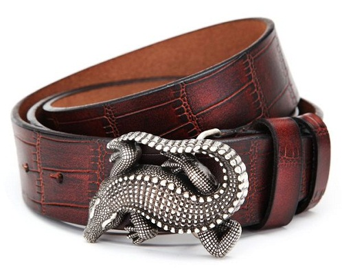 Reptile Style Belt for Jeans