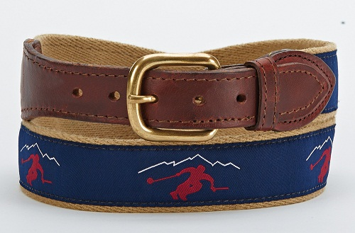 Ribbon Belt for Men