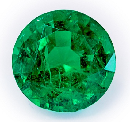Round May Birthstone