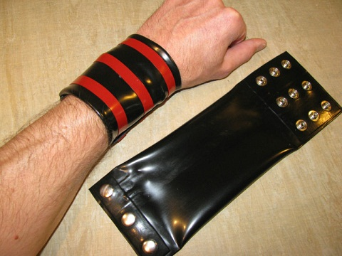 Rubber Wrist Wallet for Men