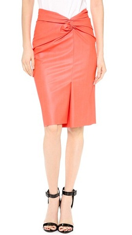 Sassy orange skirt