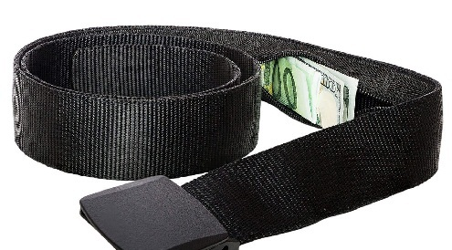Security Belt Wallet