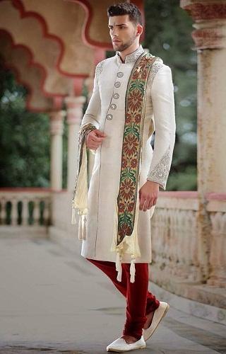 Sherwani Churidar Pants