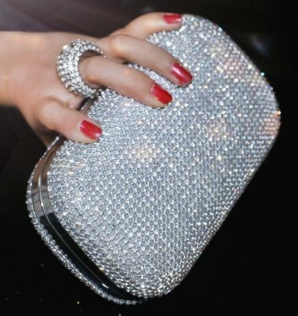 Shimmering Clutch Wallet