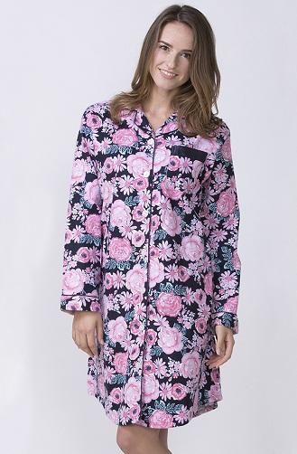 Shirt Style Nightdress