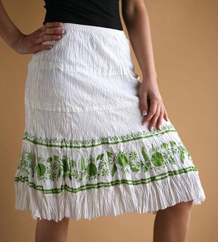 Short Broomstick Skirt