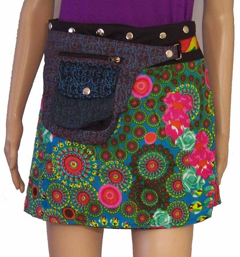 Short Wrap Around Skirts