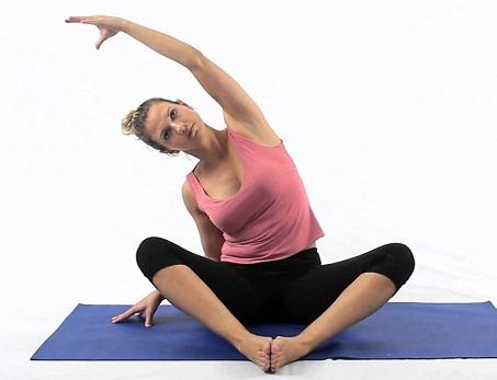 Side Bending – Sitting Posture
