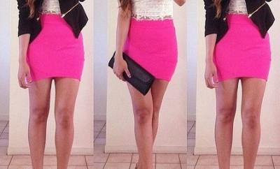 Hot Pink Skirts