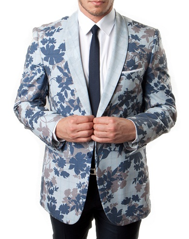 Slim Fit Sport Coat Blazer