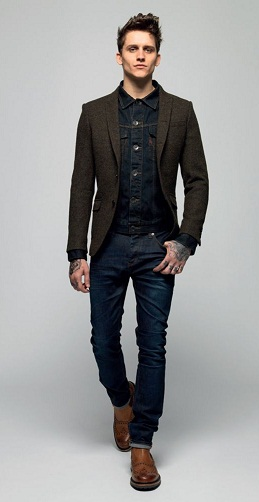 Slim Fit Sports Blazer