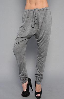 Soft Grey Pants