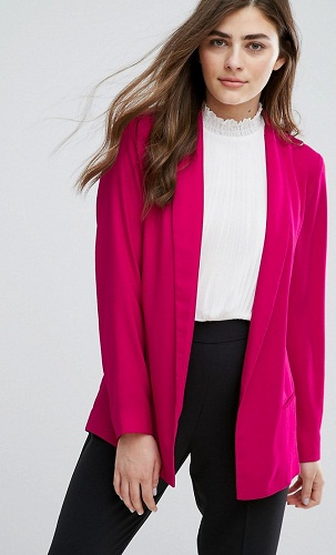Soft Tailored Cute Long Blazer Jacket