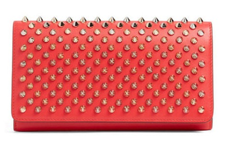Spiked Designer Wallet for Women