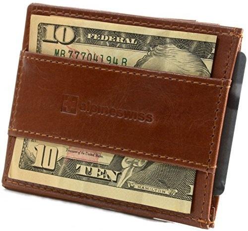 Strap Front Pocket Wallet