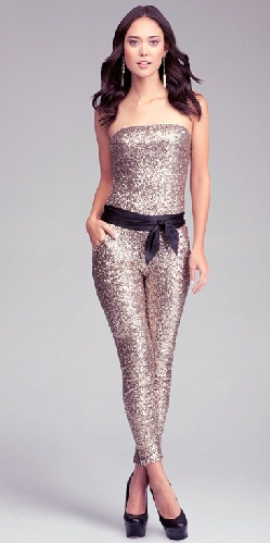 Strapless Party Jumpsuit