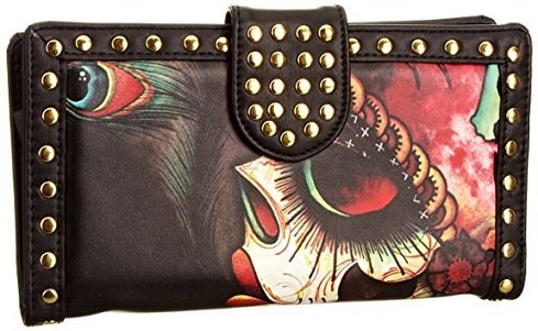 Studded Funky Wallet for Women