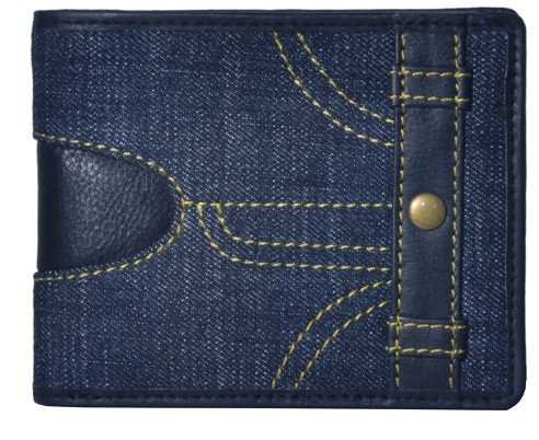 Stylish Trendy Blue Wallet
