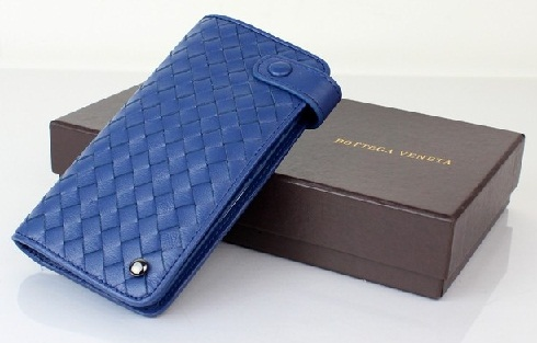 Suave Mens Blue Wallet