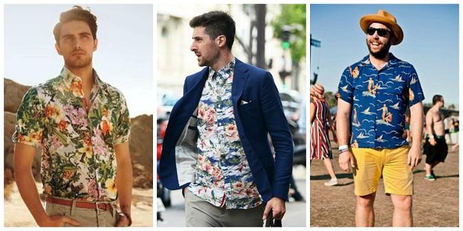 Summer Wear Printed Tunics for Men