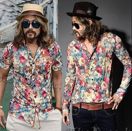 Summery Chiffon Tunic for Men