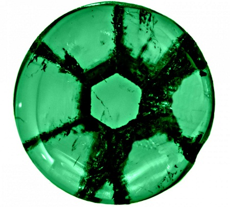 Trapiche emeralds May birthstone