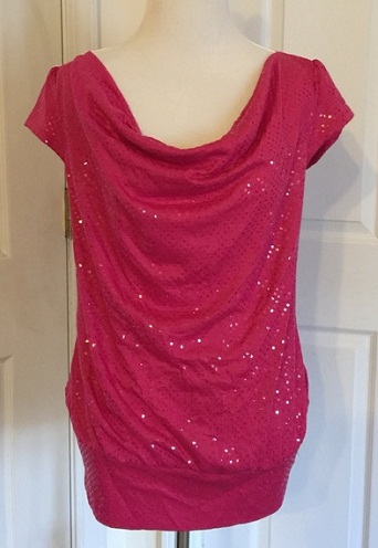 Trendy Shimmer Top