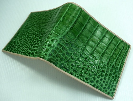 Unisex Crocodile Wallet