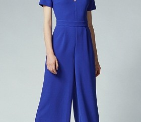 V-Neck Palazzo Leg office Jumpsuit3