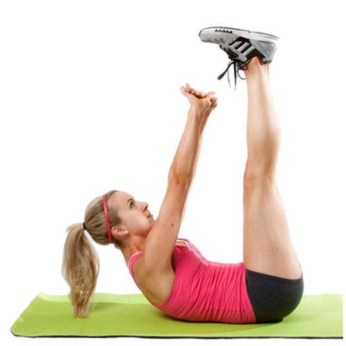 Vertical Leg Crunches