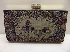 Vintage Tapestry Wallet for Women