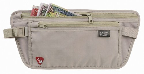 Waist Band Security Wallet