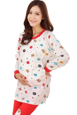 Warm Pregnancy Nighties