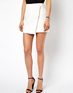 Wrap Around Mini Skirt