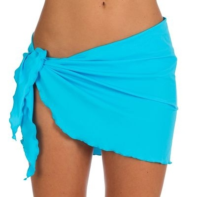 Wrap beach skirt