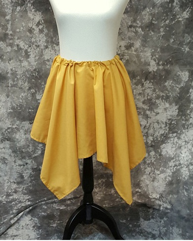 Yellow Handkerchief skirts