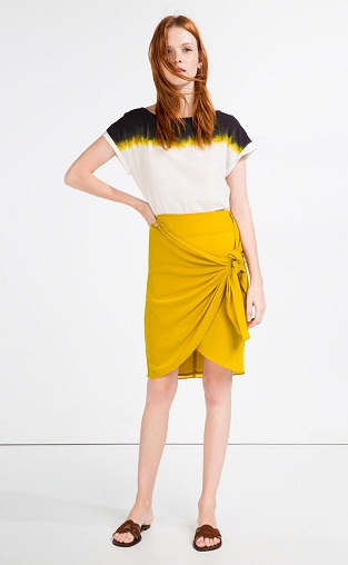 YellowPareo Skirts