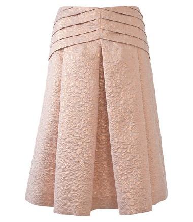 Yoke designer skirt