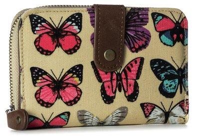 Zip Around Funky Wallet