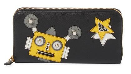 Zip Around Prada Wallet