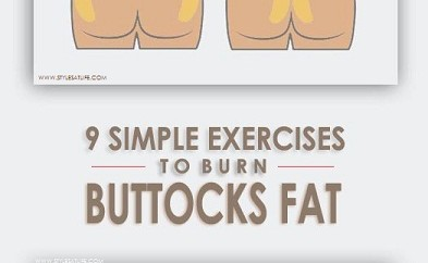 Exercises To Reduce Butt Fat