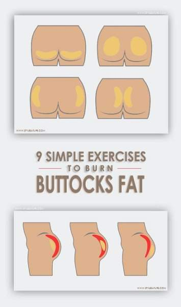 exercises to reduce buttocks at home