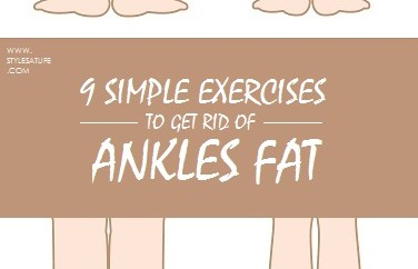 Exercises to Get Rid of Ankles Fat